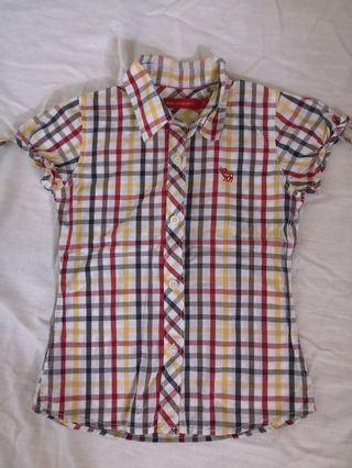 Padini Girls Checkered Shirt 7-8yr