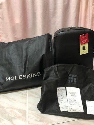 🚚 Brand New Unused Moleskine Classic Leather Backpack