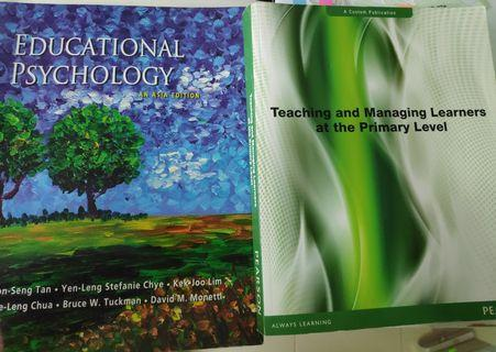 Educational Psycology + Teaching and Managing Learners at the Primary Level (NIE PGDE)