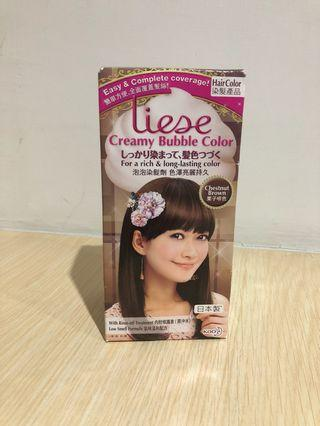 Liese creamy bubble hair color chestnut brown pewarna rambut