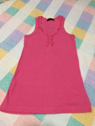 🚚 Pre-loved Pink Tank Top