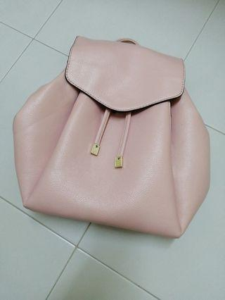 Pink Backpack with back and inner compartments