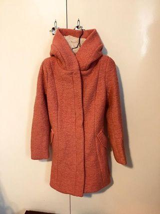 Pink Teddy long coat