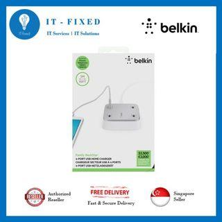 Belkin Family Rock Star 4 Port USB Home Charger