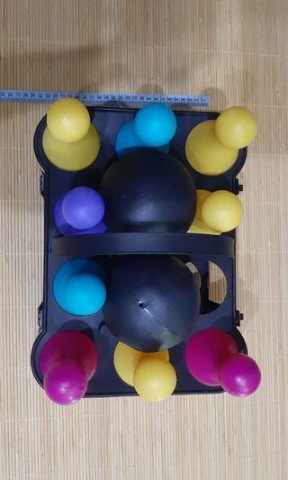 保鈴球塑膠益智玩具