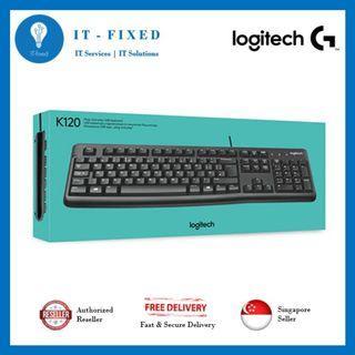 🚚 Logitech K120 Keyboard
