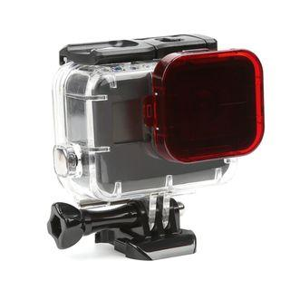 Telesin Red Dive Filter for Telesin WTP504 Clear Housing Gopro Hero 7 6 5 Black only