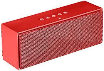 [HG224] AmazonBasics Wireless Bluetooth Dual 3W Speaker with Built-in Microphone - Red