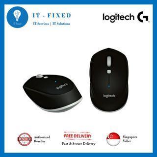 🚚 Logitech M337 Black Mouse