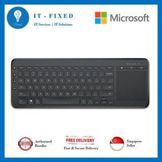 🚚 Microsoft All in one media Keyboard