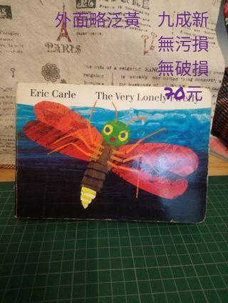 🚚 (二手)艾瑞.卡爾 英文硬頁書 The very lonely firefly