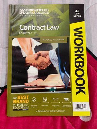 Contract Law (Chp 1-9) Workbook