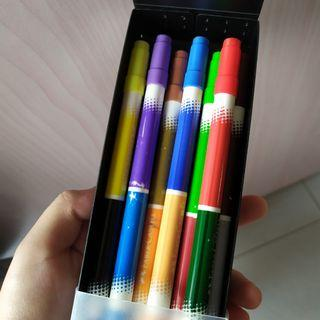 🚚 double tip faber castell markers
