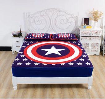 Bedsheet only Iron man , one piece , avengers