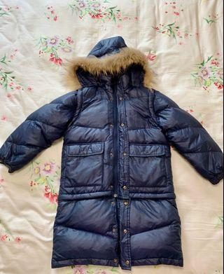 Winter Coat Kids Navy
