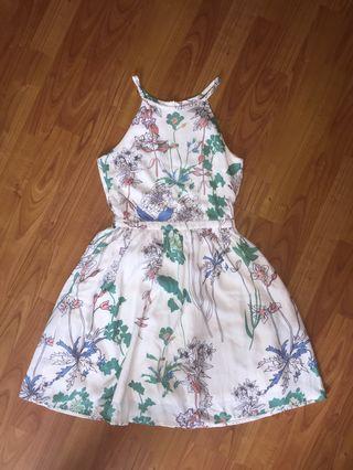 TCL WHITE FLORAL DRESS