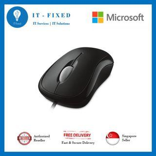 🚚 Microsoft Wired Basic Optical Mouse
