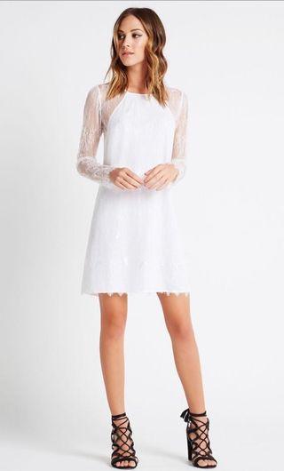 BCBGeneration Eyelash Lace A-Line Dress 連身裙