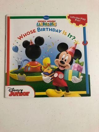 迪士尼英文故事書兩本