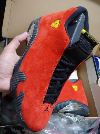 Air jordan 14 Ferrari us10