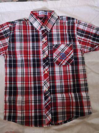Boy Checkered Shirt 12-13yr