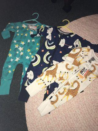 Baby Bonds Wondersuits