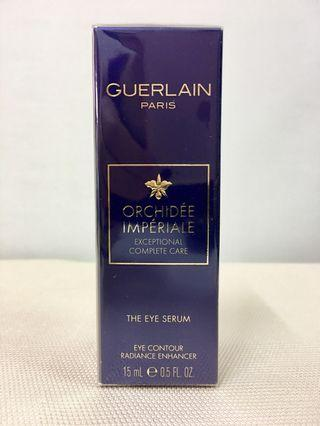Guerlain 嬌蘭 ORCHIDEE IMPERIALE  The Eye Serum  Eye Contour Radiance Enhancer  御庭蘭花 極緻全效眼部精華素 15ml