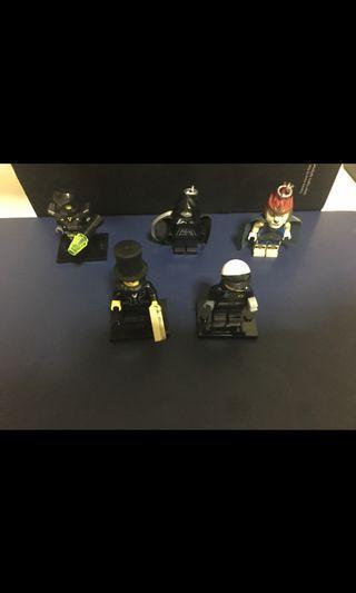 Authentic Lego Minifigures