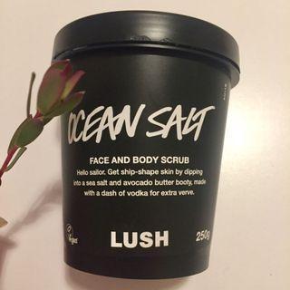 LUSH Ocean Salt Scrub