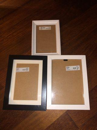 IKEA Photo Frame (3 pieces