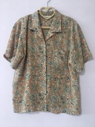 古著 復古圖案恤衫