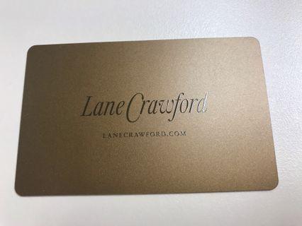 交換Lane Crawford gift card 連卡佛禮品咭