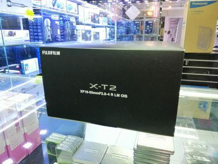 [實體店] Fujifilm XT2 kit XF 18-55mm F2.8-4 R LM OIS (平行進口) 議價不回
