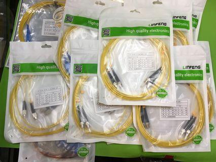 全新/大量/高質/蝕賣/各種光纖跳線/optical fiber/3米