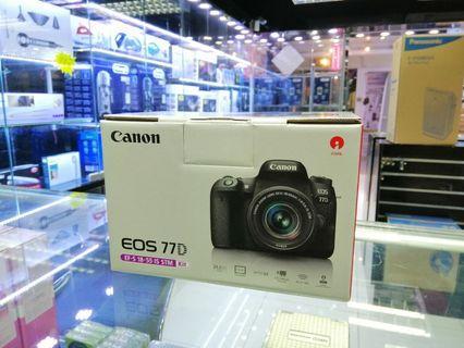 [實體店] Canon 77D kit EF-S 18-55 IS STM (平行進口) 議價不回