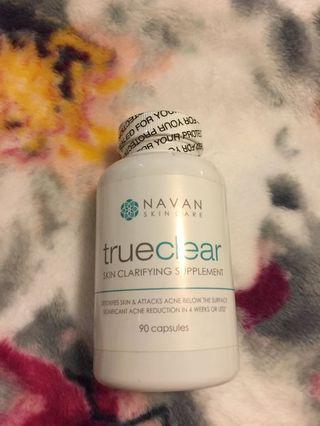 NAVAN true clear skin clarifying supplements acne reduction