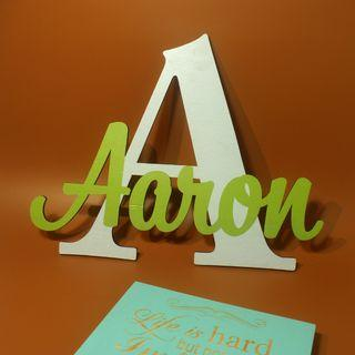 Wooden Baby Name Letters Wall Decor
