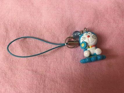 中古 叮噹 電話繩 Doraemon