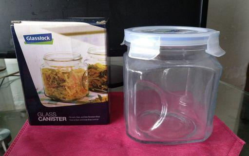 glass canister 玻璃密封罐