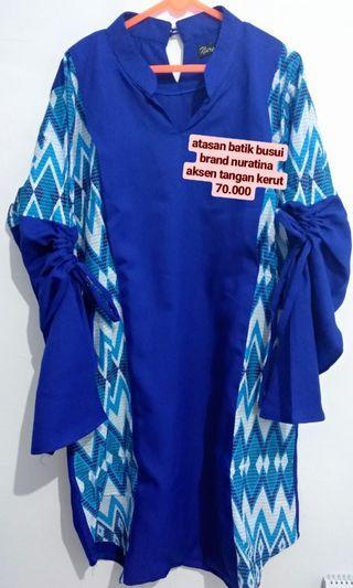 baju menyusui nursing wear NURATINA baju batik