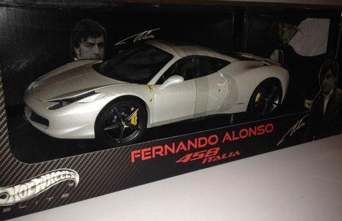 Hotwheels elite Ferrari 458
