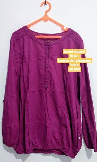 blouse atasan kerja