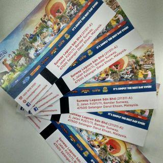 Sunway Lagoon Entry Tickets (All Theme Parks)