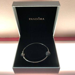 🚚 *Limited Edition* 'ONCE IN A MILLION' Bangle (With Pandora Hearts Charm)