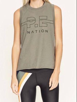 PE Nation singlet