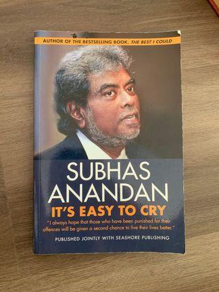 🚚 Subhas Anandan - It's easy to cry