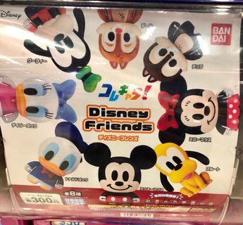 迪士尼扭蛋全套(共8隻)