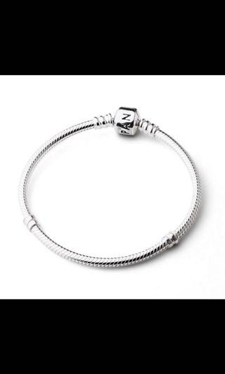 Pandora純銀手鍊 18cm