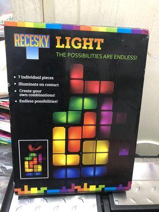 Tetris 俄羅斯方塊特色燈 (可任意組合發光)
