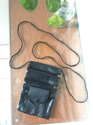 [Indian Genuine Leather] Small Sling Bag #mauthr